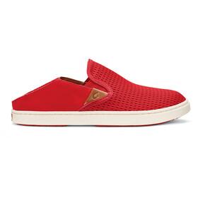 OluKai W's Pehuea Shoes Ohia Red/Ohia Red